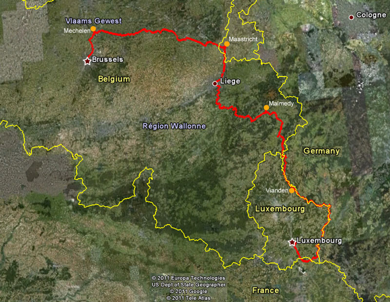 Five Countries Cycle Tour