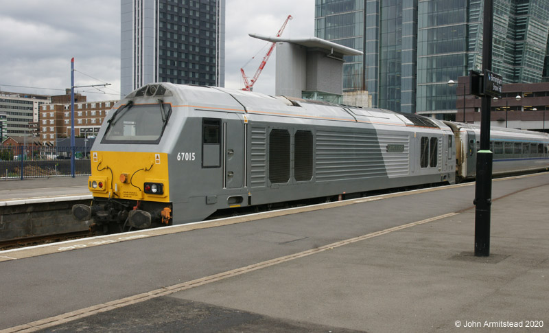 Class 67 at Snow Hill