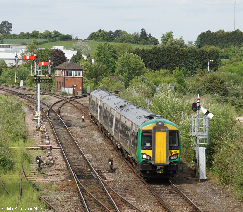Class 172 at Droitwich Spa