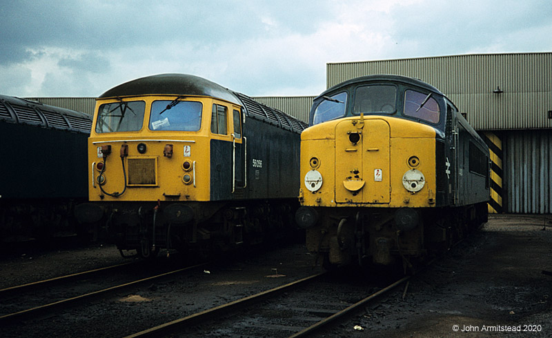 Class 44 and Class 56, Toton