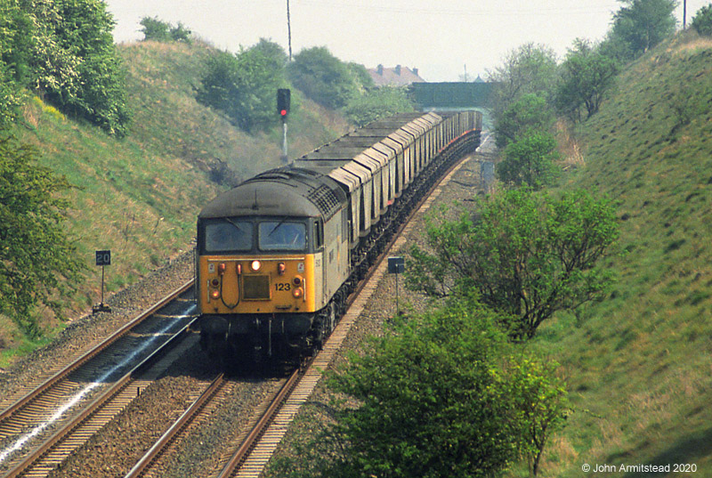 Class 56 at Sharlston