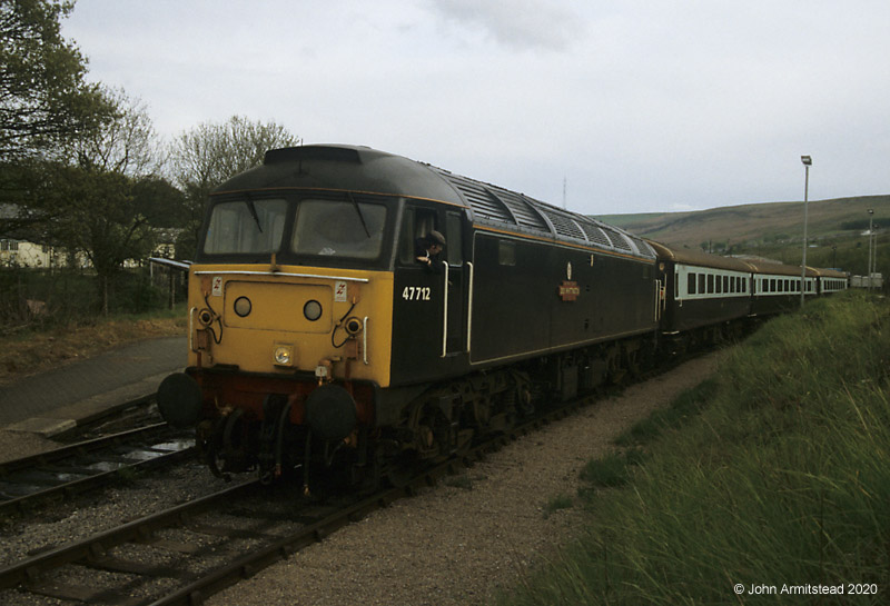 Class 47 at Rhymney