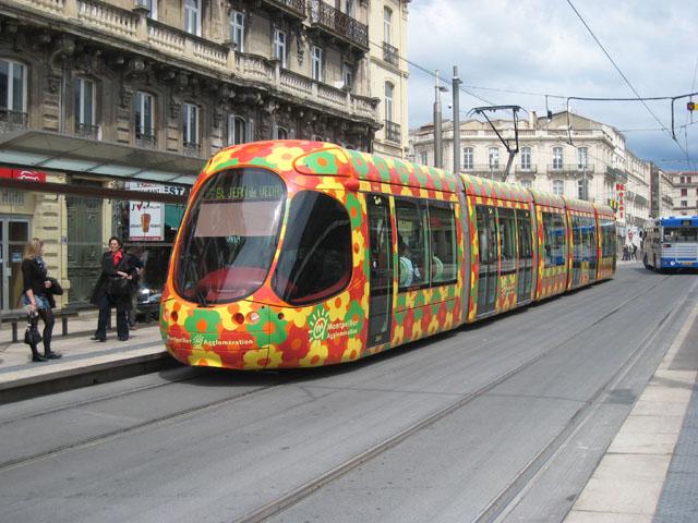 Montpellier Tram Line Montpellier Tram